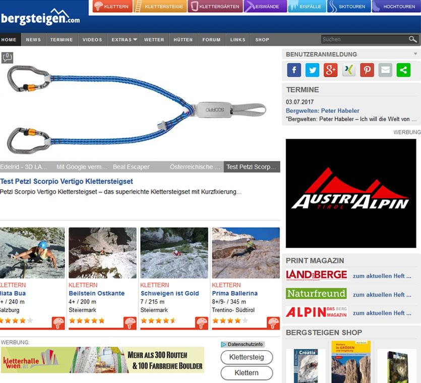 bergsteigen.com